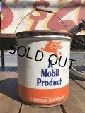 Vintage Mobil 5GL Motor Gas/Oil Can (S916)