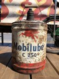 Vintage Mobil 5GL Motor Gas/Oil Can (B452)