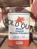 Vintage Mobil Liquid Burner Cleaner Can (B455)