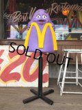 Vintage Mcdonald's Playland Chair Grimace (B460)