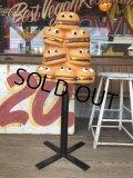Vintage Mcdonald's Playland Chair Hamburger & Cheeseburger (B461)