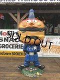Vintage Mcdonald's Playland Officer Big Mac Police Statue (B465)