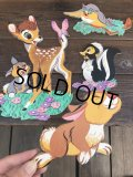 Vintage Dolly Toy Pin Ups Wall Decor Bambi Complate Set (B482)