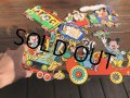 Vintage Dolly Toy Pin Ups Wall Decor Casey Jr. Circus Train Complate Set (B484)