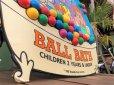 画像3: 90s ShowBiz Pizza Place BABY BALL BATH GAME Original Store Display (B486)