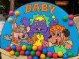 画像4: 90s ShowBiz Pizza Place BABY BALL BATH GAME Original Store Display (B486)