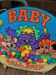 画像15: 90s ShowBiz Pizza Place BABY BALL BATH GAME Original Store Display (B486)