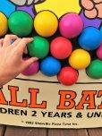 画像12: 90s ShowBiz Pizza Place BABY BALL BATH GAME Original Store Display (B486)