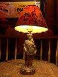 Vintage 50s Disney DAVY CROCKETT Lamp (B493)