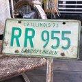 70s Vintage License Plates RR 955 (B512)