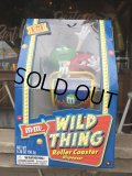 Vintage M&M's Dispenser Wild Thing Roller Coaster (B503)