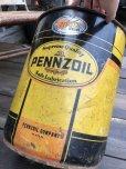 画像7: Vintage  Pennzoil Motor Gas Oil 5 Gallon Can (B517)