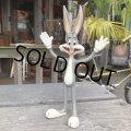 80s Vintage WB Bugs Bunny Bendy Figure (B527)