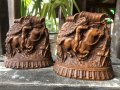 Vintage Western Indian Bookends (B547)