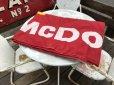 画像17: 70s Vintage Original McDonald's Flag Banner Sign (B565)