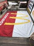 画像7: 70s Vintage Original McDonald's Flag Banner Sign (B565)