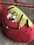 画像3: Vintage Funny Face Cloth Doll Freckle Face Strawberry (B574)