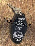 Vintage Motel Key Caravan Inn #307 (B611)