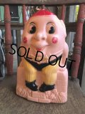 Vintage Reliable HUMPTY DUMPTY Plastic Mold Coin Bank (B631)