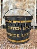 Vintage Dutch Boy Paint Pail Can 25 pound (B645)