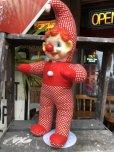 画像3: Vintage Musical Toy Clown Rubber Face Doll (B645)