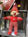 画像9: Vintage Musical Toy Clown Rubber Face Doll (B645)