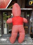 画像4: Vintage Musical Toy Clown Rubber Face Doll (B645)