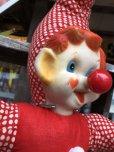画像5: Vintage Musical Toy Clown Rubber Face Doll (B645)
