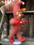 画像2: Vintage Musical Toy Clown Rubber Face Doll (B645) (2)
