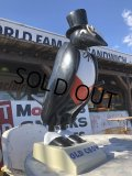 Vintage OLD CROW Kentucky Whiskey Store Display Statue (T655)