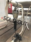 30s Vintage Industrial Hanging Trouble Work Lamp Light (661)