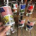 70s Vintage Heritage Glass Star Spangled Banner (G023)