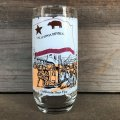 70s Vintage Coca Cola Heritage Glass California Bear Flag (G026)