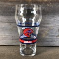 Vintage Coca Cola Glass NFL BILLS (G064)