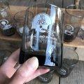 70s Vintage BUGER SHEF Glass NFL  NEW ENGLAND PATRIOTS (G056)