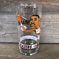 Vintage Dairy Queen Glass NBA Portland Trail Blazers '93-'94 HARVEY GRANT (G015)