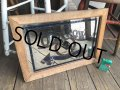 Vintage OLD CROW Kentucky Whiskey  Store Display Bar Pub Mirror Sign (B676)
