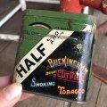 Vintage HALF AND HALF Tabacco Pocket Tin Can (B689)