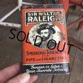 Vintage Raleigh Tabacco Pocket Tin Can (B682)