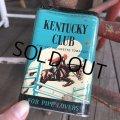 Vintage Kentucky Club Tabacco Pocket Tin Can (B688)
