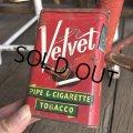 Vintage Velvet Tabacco Pocket Tin Can (B683)