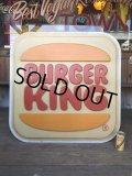Vintage Burger King Old Logo Outdoor Sign Original (B697)