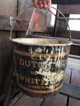 画像7: Vintage Dutch Boy White Lead Paint Bucket Pail (B707)