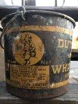 画像2: Vintage Dutch Boy White Lead Paint Bucket Pail (B707) (2)