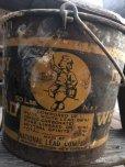 画像6: Vintage Dutch Boy White Lead Paint Bucket Pail (B707)