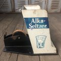 Vintage Alka Seltzer Counter Display W/Tape Dispenser (B721)