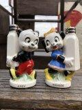 50s Vintage NAPCO Walter Lantz  Andy Panda Salt & Pepper Shakers (B749)