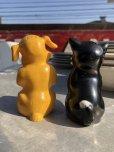 画像3: 50s Vintage Ken-L Ration Fido Dog Fifi Cat S&P Shakers (B757)