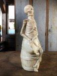 画像3: Vintage Skull Porcelain Decanter Bottle (B760)