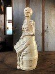 画像4: Vintage Skull Porcelain Decanter Bottle (B760)